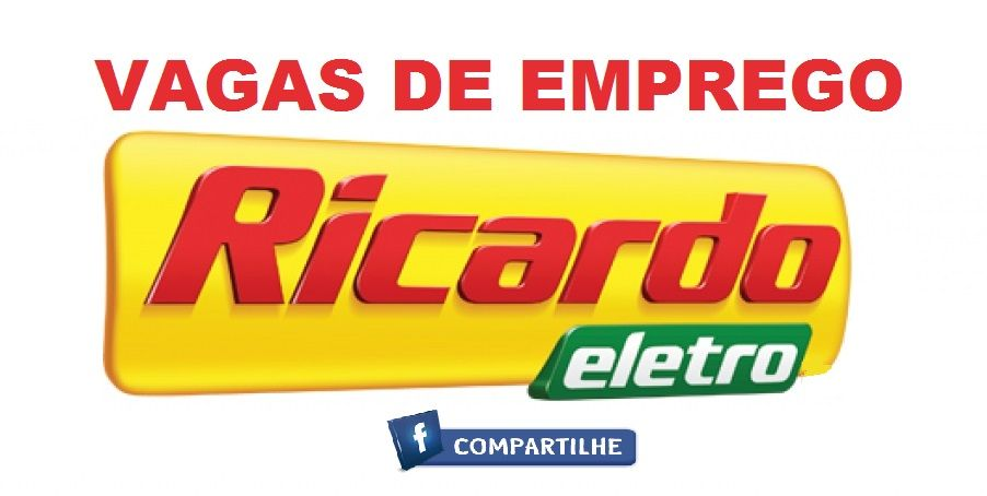 Vaga de vendedor na Ricardo Eletro