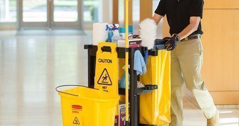 Vaga para profissional de limpeza