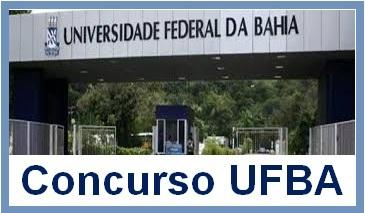 UFBA: 64 vagas para professor auxiliar, assistente e adjunto