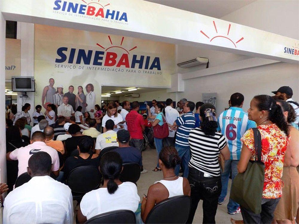 Vagas do SineBahia para hoje 06 de Agosto, segunda-feira