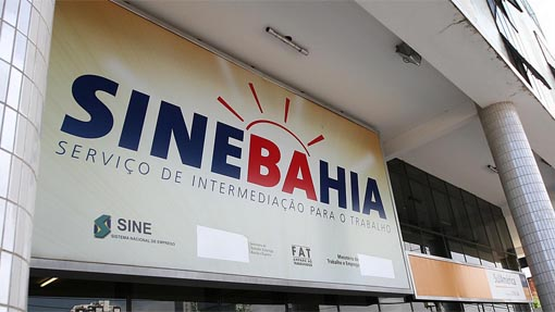 Vagas SineBahia hoje Terça-Feira 05/06/2018