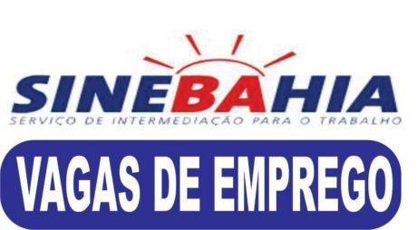 Vagas do SineBahia para amanhã, terça-feira (15/05/2018)