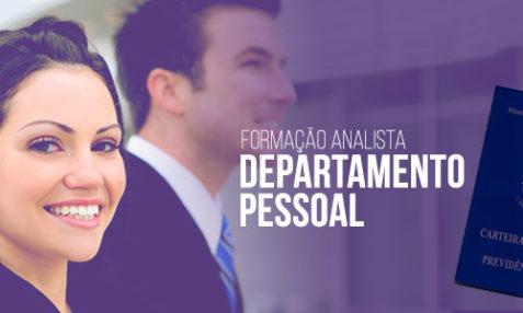 Vaga: Assistente de Departamento Pessoal