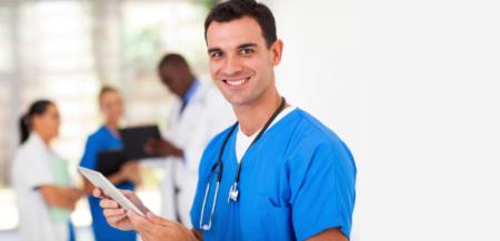 Vaga de enfermeiro no hospital Português