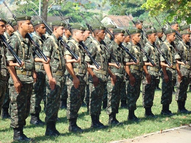 [VAGA2018] – INSCRIÇÕES ABERTAS: Exército anuncia 1.100 vagas para concurso de nível médio