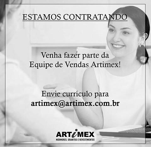 Vaga de Emprego para vendedor na Artimex