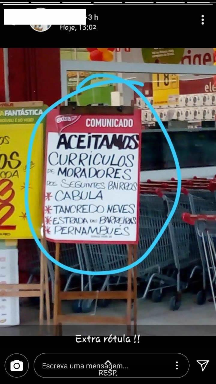 Extra Rótula do Abacaxi está aceitando currículos!