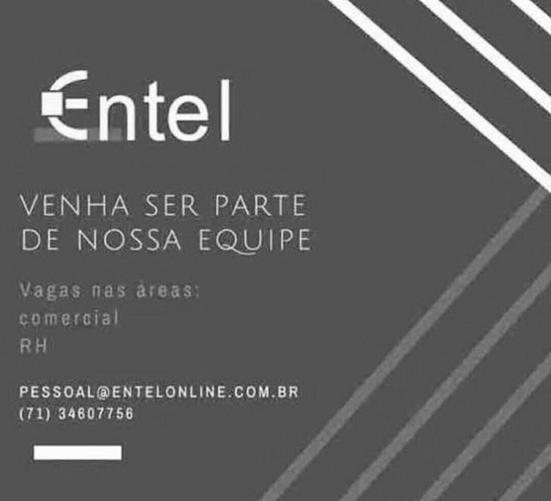 Vagas para RH e Comercial, empresa Entel está contratando!