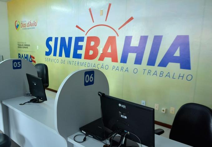 Vagas do sinebahia 20/03 – Quarta